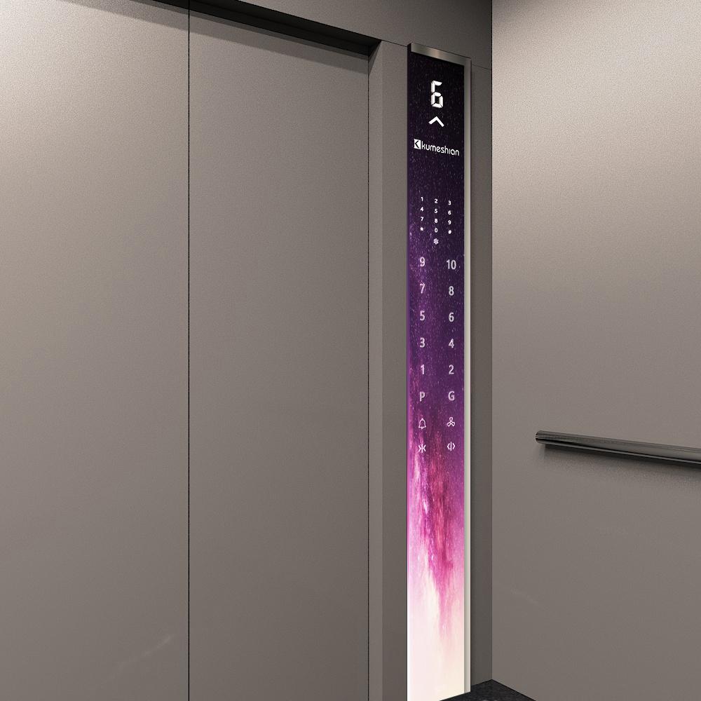 شاسی لمسی طرح دارآسانسور