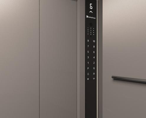 پنل لمسی آسانسور