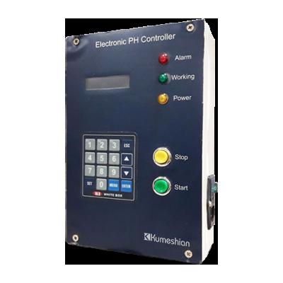 سیستم کنترل کننده میزان PH در یک راکتور شیمیایی صنعتی