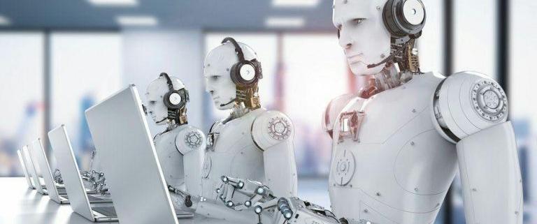 جایگزینی ربات با انسان