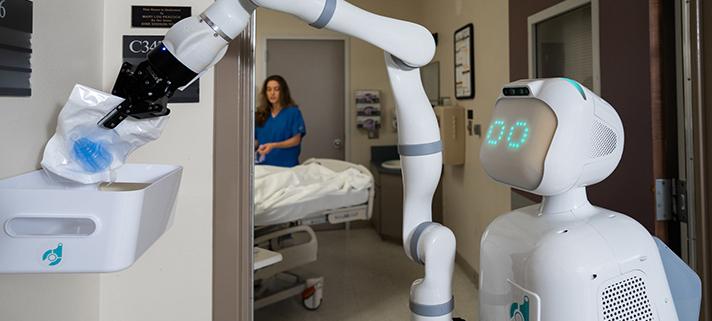 حل بحران کرونا توسط رباتها و تکتولوژی هوش مصنوعی