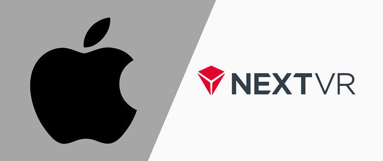 خرید NextVR توسط اپل
