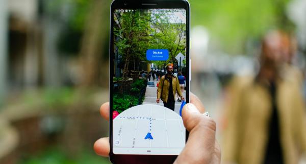 مکانیابی دقیق گوگل مپس